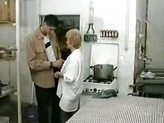 elderly drilled inside disco dining room  xlx