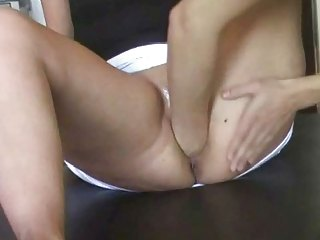 german woman pussyfisted &; orgasm