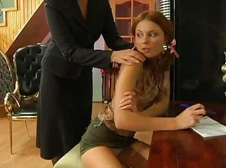sexcrazy grownup babe provoking a glamorous angel