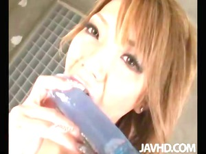 japanese av woman sena is hired to be a