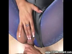 cfnm ladies lick and gang bang his uneasy penis