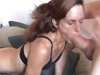 extremely sexy cougar babe sherry worships to bang
