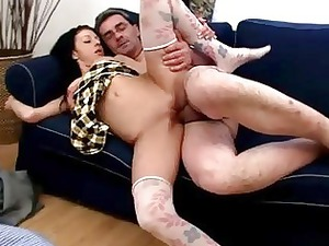 horny banging with grown-up stud
