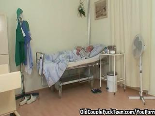 grandpa gang-bangs awesome desperate nurse
