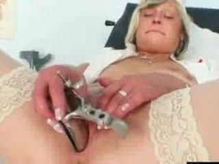 nasty medic mature babe nada gangbangs herself