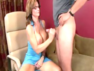 naughty lady with glasses jerking libido