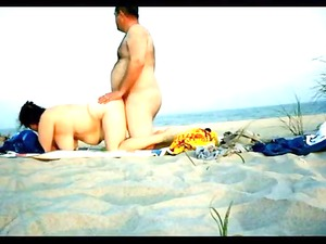 private doggy style sex on the seaside