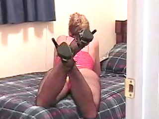 bitch wife masterbating during looking at horny
