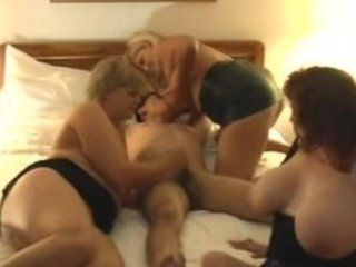 naughty older  cougars foursome