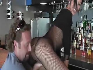 hawt mommy has porn in the club