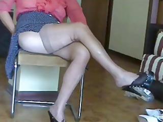 grownup feet