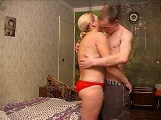 russian milf with guy