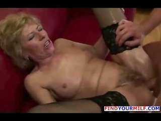 horny old obtains bottom cum