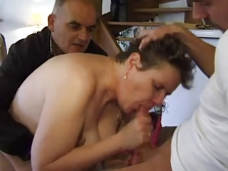 french older  n34 bbw anal lady into triple 50a