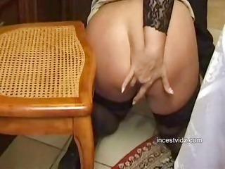 busty blonde italian mom does sixtynine and bangs
