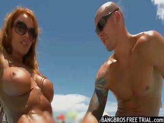beach figure  milf likes large libidos