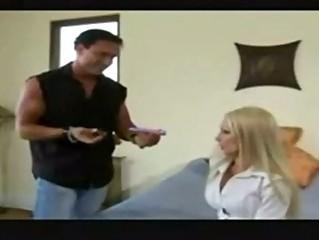 cheating lady seducing ringed guy