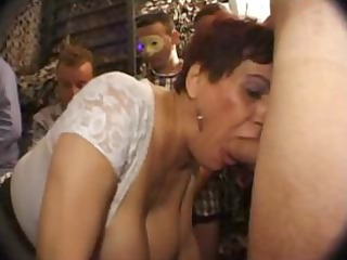 slutty french grownup licks dick with a fresher