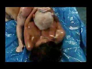 desperate arse wrestling cougar donita dunes