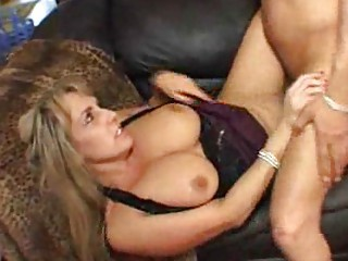 huge boobed woman is glad her lover came house