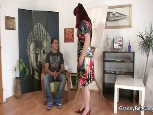 dick hungry cougar paintress acquires it from