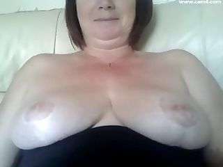 stacked plump european momma is prepared for a