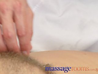 massage rooms older  girl with bushy pussy given