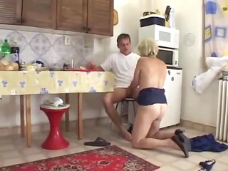 mommy into the kitchen