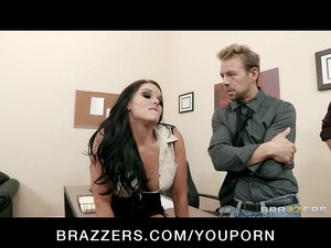 big-tit office lady mackenzee fuck acquires two
