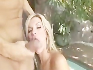 awesome blonde mature babe pierced amateur