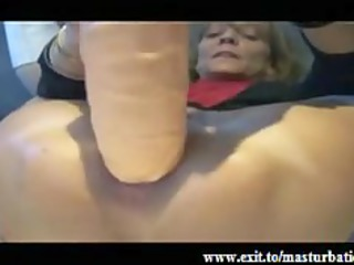 extreme butt masturbation of old fiona