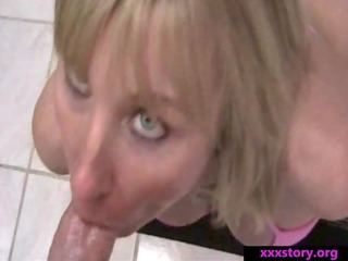 slut woman bangs stepson